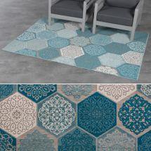 Out- und Indoor-Teppich «Vintage»