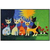 Fussmatte «Una bella compagnia», Rosina Wachtmeister 50x75 cm