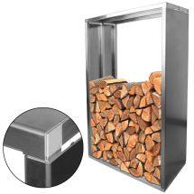Kaminholzständer «indoor/outdoor» Aluminium