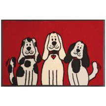 Fussmatte «Drei Hunde» 50x75 cm