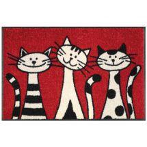 Fussmatte «Drei Katzen» 50x75 cm