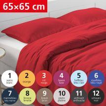 Bettwäsche Kissenbezug «UNI» 65x65, Satin