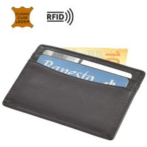 Kreditkartenetui «ID-Safe» Rindsleder