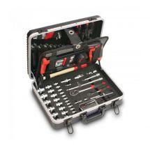 TEDURA Werkzeugkoffer TOP 128-teilig