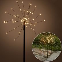 LED Dekoleuchten «Firework», 3er Set