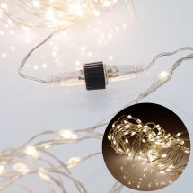 Erweiterung LED Licherkette Angel Hair «Connectable»