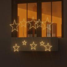 LED Sternen Steck- und Hängevorhang «Angel Hair»