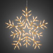 LED Acryl Schneeflocke, Ø 58 cm