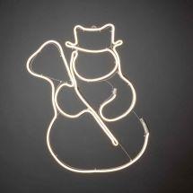 LED Neonflex Silhouette «Schneemann»