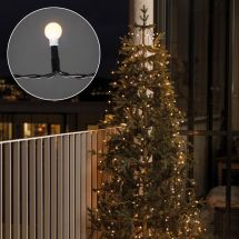LED Baummantel «Bulb»