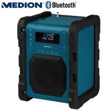MEDION DAB+ Baustellenradio mit Bluetooth Funktion