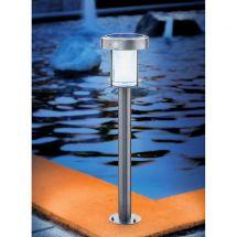 Lampadaire solaire LED «Ancône» avec détecteur de mouvement «Duo Color»