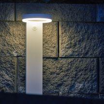 Lampadaire solaire LED «Modern Art» avec détecteur de mouvement