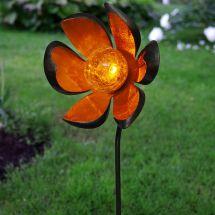 Solar LED Standleuchte «Flower»