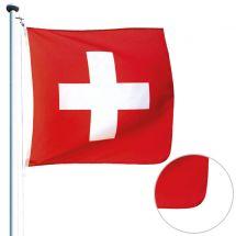 Drapeau suisse classique «Life+»