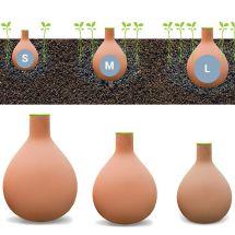 Système d'irrigation «Hydro-argile»