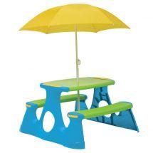 Picknicktisch mit Schirm