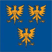 Gemeindefahne 3977 Granges VS, altes Wappen