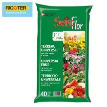 Universalerde «SwissFlor», 40 Liter