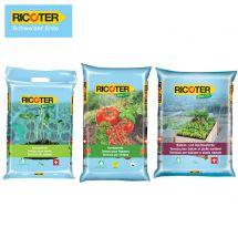 RICOTER Sparpalette «Anzucht-, Hochbeet- und Gemüseerde» SMALL