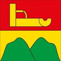 Gemeindefahne 3307 Brunnenthal Superflag® 100x100 cm