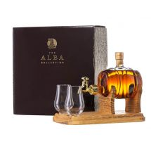 Whisky Barrel mit 2 Gläsern, 350 ml, 40 Vol. %