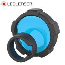 LED Lenser Farbfilter blau zu Taschenlampe MT18