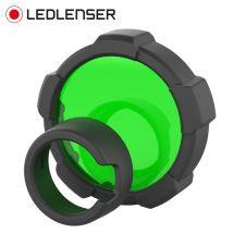 LED Lenser Farbfilter grün zu Taschenlampe MT18