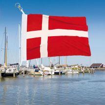 Bootsfahne Dänemark Superflag® 20x30 cm