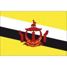 Länderfahne Brunei Darussalam Polyester 300x200 cm