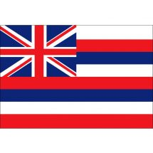 Fahne Bundesstaat Hawaii USA Superflag® 75x50 cm