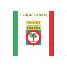 Fahne Region Apulien Italien Superflag® 150x100 cm