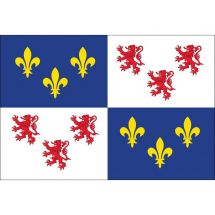 Fahne Region Picardie Frankreich Superflag® 150x100 cm