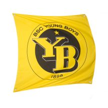 Sportfahne BSC YB official «Classic» Polyester 80x80 cm