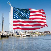 Bootsfahne Vereinigte Staaten Superflag® 20x30 cm