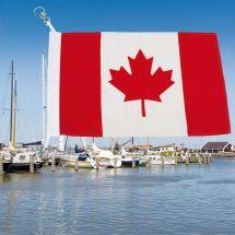 Bootsfahne Kanada Superflag® 20x30 cm