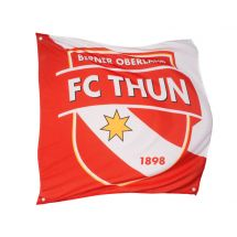 Sportfahne FC Thun official Polyester 80x80 cm