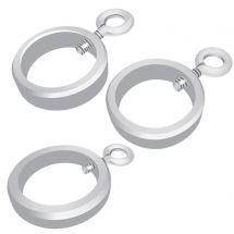 Set d'anneaux pour mâts télescopiques incl. couvercle