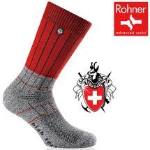 Rohner Trekking-Socken «SAC Edition» grau/rot 47-49