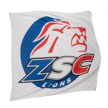 Sportfahne ZSC Lions official Polyester 80x80 cm