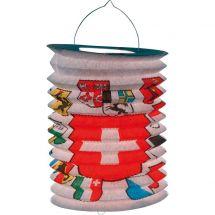 Lanterne accordéon CH avec cantons