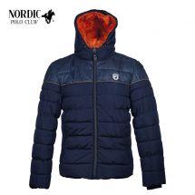 Nordic Polo Club Winterjacke «Lapland» blau L