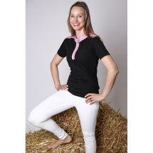 Damen T-Shirt «Murri», schwarz