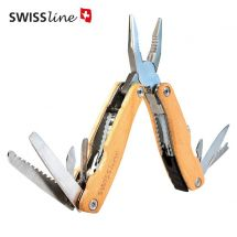 Swissline Multitool «Wood»