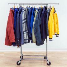 Porte-vêtements lourds pliable «Darren»