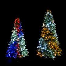 Dekorierter Tannenbaum mit 250 LED, 1,5 m