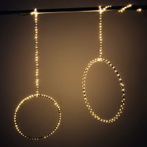 LED Ring «Angel Hair»