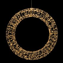 LED Ring «Angel Hair» Ø45 cm 960 sunny-warme LED