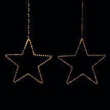 LED Stern «Angel Hair», schwarz