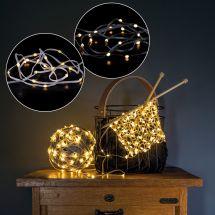 Guirlande de lumières LED «Flex»